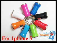 Wholesale For Apple Iphone S Samsung Blackberry HTC Mini USB Vehicle Auto Car Charger Adapter Low price