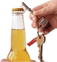 Wholesale Gifts Keychain Keyring Suck UK Key Design Shape Bottle Beer Can Opener