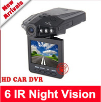 Wholesale 6 IR LED Night Vision quot Color LCD Car DVR Auto HD Audio Video Recorder Camera