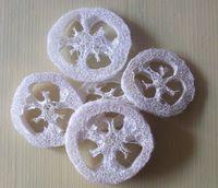 Wholesale 250pcs Natural Loofah Luffa Loofa Slices Chew toys Bath Shower Sponge Scrubber