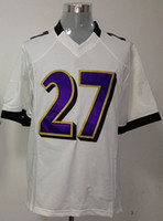 Football Men Short #27 RICE White Fans Style Men Game Jersey Football Jerseys Rugby Ball Jersey Size S~3XL