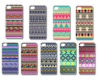 Wholesale New Aztec Tribal Tribe Pattern Retro Vintage hard back case cover skin for iphone G th free ship