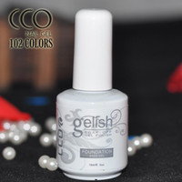 Wholesale CCO Gelish UV LED Base Coat Nail Gel Top coat Nail Gel