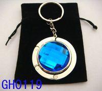 Wholesale 5cm round metal foldable bag hanger bag hook purse hook purse hanger mixed color GH09