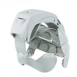 Мода Серый Электрический массажер головы мозга Массаж Relax Easy акупунктурные точки