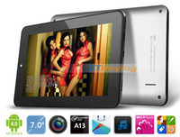 Wholesale 7inch Android tablet pc Onda V702 Fashion Allwinner A13 Ghz GB ROM Multi Touch WIFI Camera