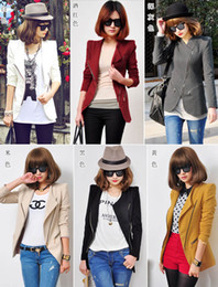New Women Shrug Zipper Cotton Blended Jacket Suit Sexy Casual Lapel Blazers Coat Spring Outerwear