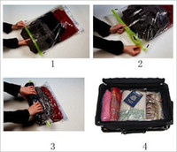 Clothing hand compression bag - hand rolling compression bags cm Vacuum compression bags