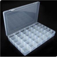 Wholesale Multi Function x Adjustable Compartment Plastic Storage Box Jewelry Tool Container