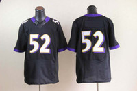 Wholesale 2012 Elite American Football Black Jerseys All Team Rugby Jersey Mix Order