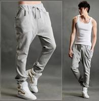 Wholesale 2013 new Casual Athletic Hip Hop Dance Sporty Harem Sport Sweat Pants Slacks Trousers Sweatpants