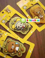 key covers - NEW cute rilakkuma series III Key holder key cover keychain strap charm Wholes