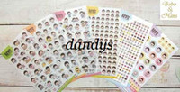 Wholesale NEW set Cartoon child PVC sticker cute note Decoration label Multifunction Whol