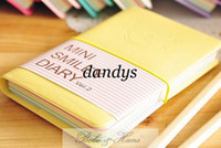 Wholesale NEW Creative Mini smiley candy Diary Notebook Note pad Memo Fashion Gift