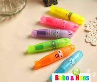Wholesale New cute Cartoon submarine fluorescent pen Color Highlighter marker
