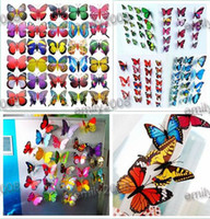 Wholesale Simulation of butterfly fridge magnet fridge magnet refrigerator magnets