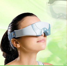 Wholesale New Design Electric Magnetic Massaging Eye Mask Forehead Massager