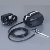 Wholesale Portable Makeup Airbrush Mini Air Compressor with Spray Gun kit Speed Airbrush tattoos