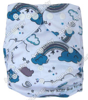 prefold - Diapers Baby Brand AnAnBaby Prefold Cartoon Pocket Diapers Without Insert One Size Fit All