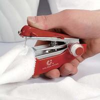 venda por atacado sewing machine-Frete grátis 1 peça nova Mini roupas à mão tecido Sartorius máquina de costura