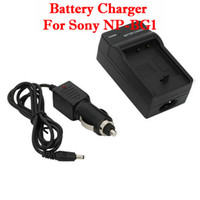 Wholesale New Digital Camera Battery Charger For Sony NP BG1 Black