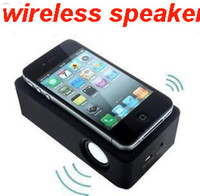 5.1 amplify tablet - Magic boose speaker Electromagnetic induction wireless amplifying For iPhone S C note S4 N9000 N7100 Smartphone tablet PC loudspeakers