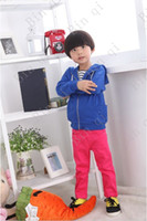 Wholesale Hot Quality and lovely cotton yellow dark blue long sleeve for