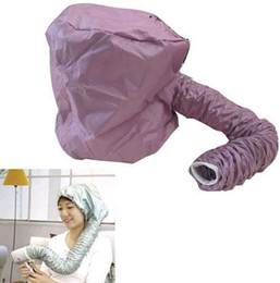 Wholesale Portable Hair Dryer Soft Hood Bonnet Attachment Haircare Salon Hairdress