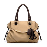 Wholesale 2013HOT high quality WEIDIPOLO brand leather handbag for women brown bag freeship Promotion