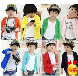 Wholesale Kids candy coat clothes fashion colorful cardigan For Autumn Spring girls jacket