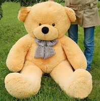 Teddy Bear giant teddy bear - FOOT TEDDY BEAR STUFFED LIGHT white GIANT JUMBO size cm XIAOXIONG007