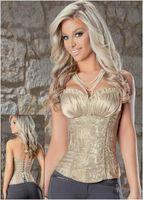 Wholesale Lolita Satin Lace Corset Top Shape SW5242 Cheaper price