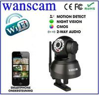 Wholesale IR CUT Night Vision LED Wireless Wifi Dual Audio Pan Tilt Hidden Robot Home Security IP Camera S597