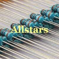 El envío libre 600pcs 30 clasifica el kit 20pcs del surtido del resistor de la película de metal de las clases 1% 1 / 4W por cada
