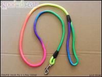 Wholesale Round Colorful pet traction rope Harness suit nylon dog dog rope Pet Supplies Mix