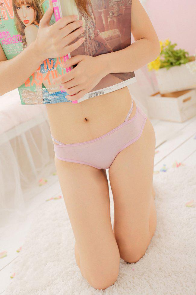 2017 New Girls Sexy Cozy Ladies Women Underwear Lingerie Panties ...