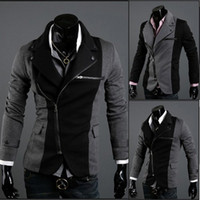 Wholesale Multi Zipper Jacket Mens Fashion Clothing Mens Dress Jackets Designer Jackets for Men MS019