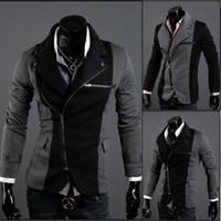 Wholesale Multi Zipper Jacket Mens Fashion Clothing Mens Dress Jackets Designer Jackets for Men MS019