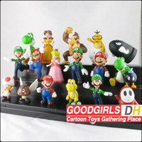 Wholesale EMS Super Mario Figures dolls toys Super Mario Figure Game toys set SMFGX001