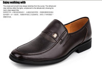 Wholesale Men dress shoes advanced Lichee dress shoe factory price