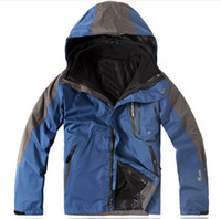 Wholesale High quality Men Outdoor Double Layer Windproof Waterproof Breathable Sportwear Clothes PIZEX