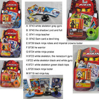 Wholesale Ninjago assembly education toys blocks against fight beyblades model mixed gyro Battle Toy Dolls
