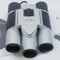 Wholesale 10x25 Zoom Digital Camera Video LCD Telescope Binocular with digital camera M Memory