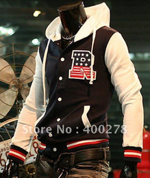 Wholesale Mens R Baseball s Hoodie Letterman Varsity Jacket Turtleneck Jacket Black Navy Red Win