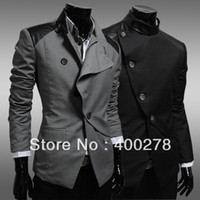Wholesale Mens blazer jacket personality Fit slim blazer coat fashion single suit Korean style b