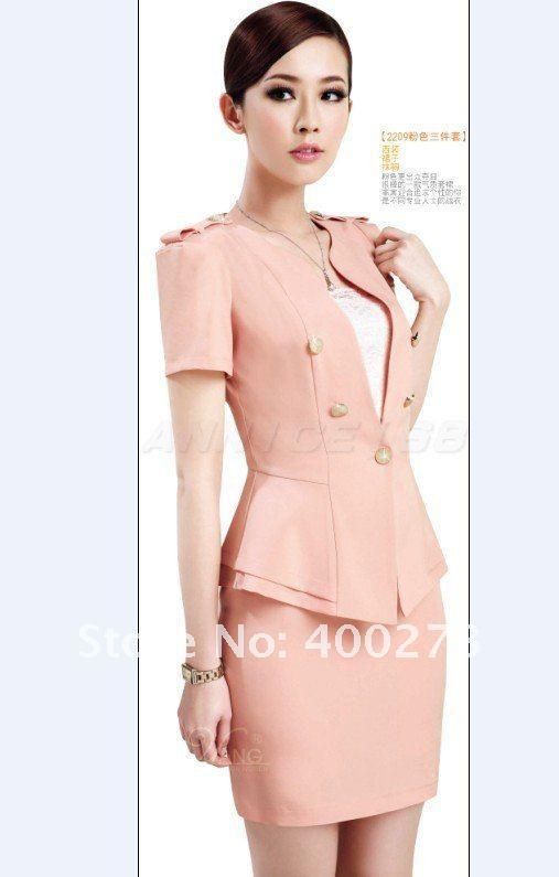 Wholesale - Women's suit Western-style clothes Professional dress