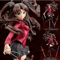 Multicolor action working - Japan Anime Fate Stay night Rin Tohsaka UNLIMITED BLADE WORKS PVC Action Figure