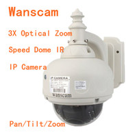 Wholesale Wanscam PTZ Wireless WaterProof Outdoor IP Camera With X Optical Zoom And IR Cut Speed Dome S606