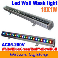 Wholesale Freeshipping high power RGB W LED Wall Wash Light led outdoor light led flood light with Romate co