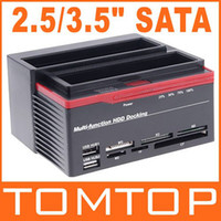 Wholesale Hot quot SATA IDE HDD Docking Station Clone USB HUB